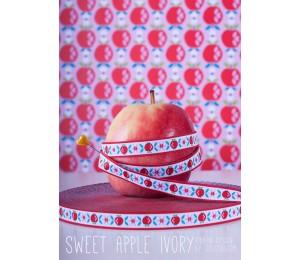 Webband Sweet Apple Ivory Jolijou von Farbenmix