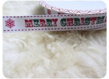 Borte Merry Christmas - retro - Vintage Schrift