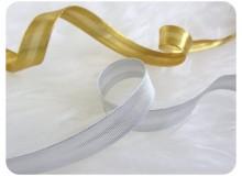 Schrägband silber oder gold