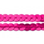 Paillettenborte 6mm pink