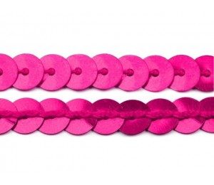 Paillettenborte 6mm pink