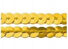 Paillettenborte 6mm gold