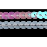 Paillettenborte 6mm fluoreszierend