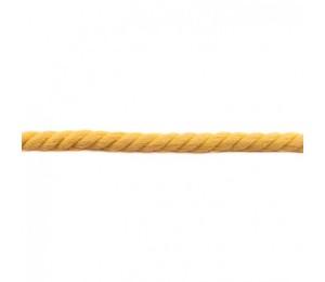 Gedrehtes Kordel 12mm Uni gelb