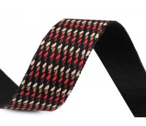 Gurtband Muster 35 mm