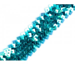 Paillettenborte Breite 25 mm elastisch