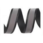 1m Gutband Breite 30 mm reflektierend schwarz