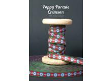 Webband Poppy Parade Crimson
