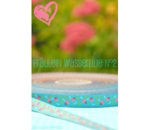 Webband Farbenmix Fräulein Wasserlilie