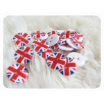 Knöpfe Union Jack - London UK