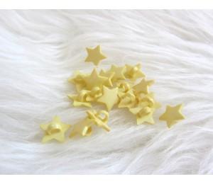 Knöpfe Sterne - Sternchen lila rot gelb