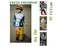 Hose Fresa - Freebook von Feelini