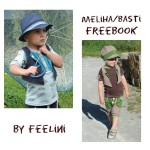 Weste Basti & Meliha - Freebook von Feelini