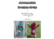 Bademantel Fritz - Freebook von heidimade