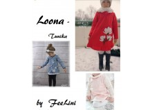 Tunika Loona - Freebook von Feelini