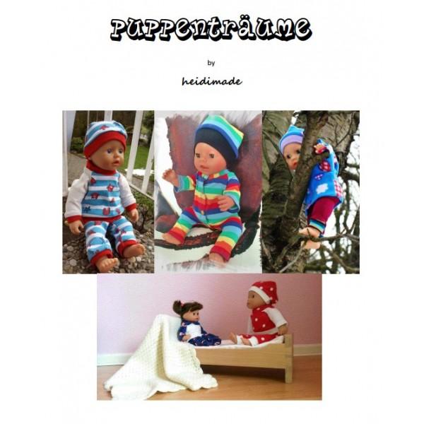 Puppenträume - Freebook von heidimade - Lollipops for Breakfast
