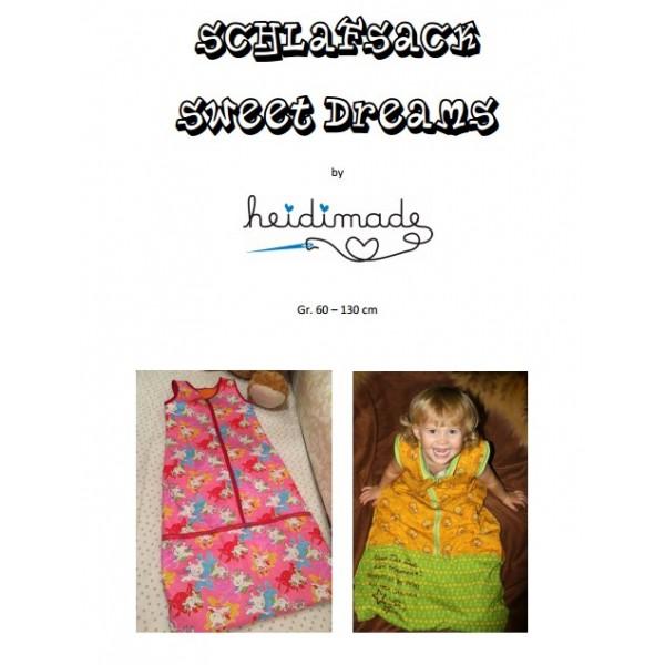 Sweet Dreams Schlafsack - Freebook von heidimade - Lollipops for ...