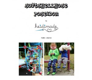Softshellhose - Freebook von heidimade