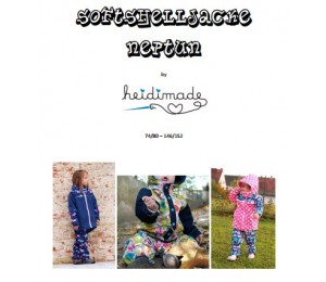 Softshelljacke - Freebook von heidimade
