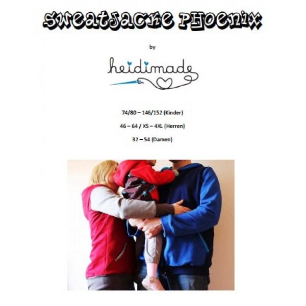 Sweatjacke - Freebook von heidimade - Lollipops for Breakfast