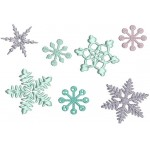 Stickserie - Snowflakes mini
