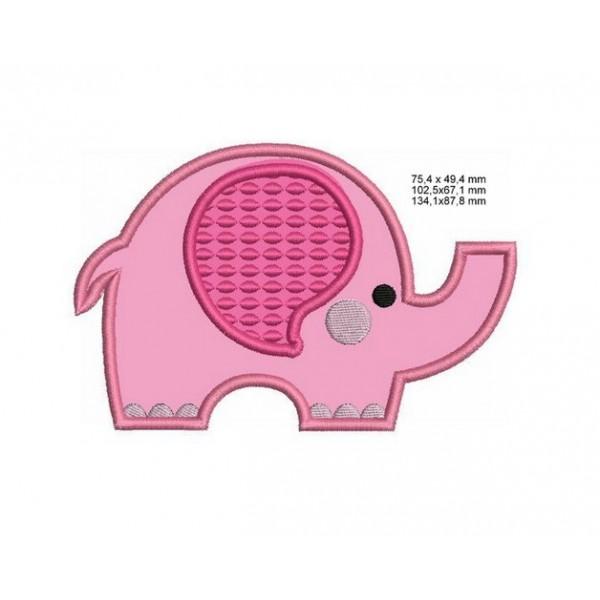 Stickmuster Elefant - Lollipops for Breakfast
