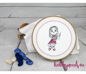 Stickserie - Sewing Girls