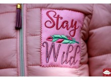 Stickserie - Federtiere Stay Wild