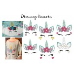 Stickserie - Einhorn Dreaming Unicorn