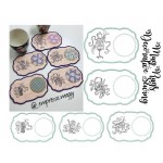 Stickserie ITH - Mug Rugs Decorative Sewing