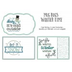 Stickdatei ITH - Mug Rugs Winter Time
