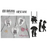 "Stickserie - ITH Herzen ""First Love"""