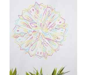 Stickserie - Wintertime Mandalas