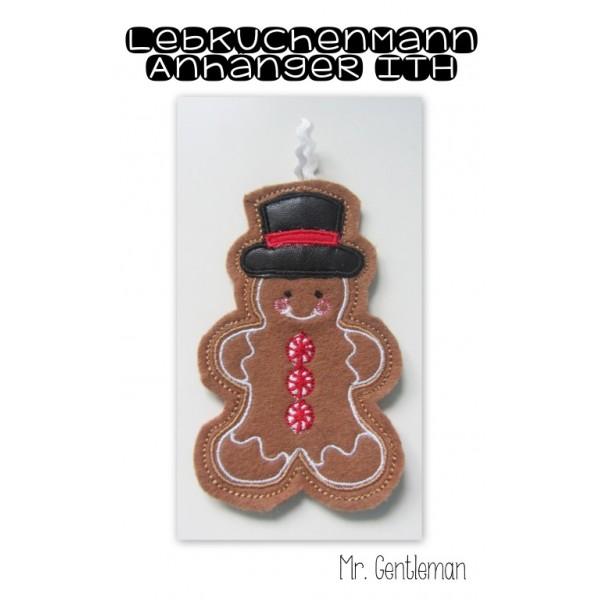 ITH Anhänger - Lebkuchenmann Mr. Gentleman Gingerbread Christmas ...