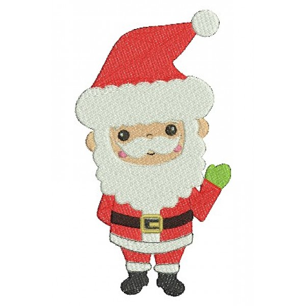 Stickdatei - Weihnachtsmann - Lollipops for Breakfast