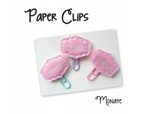 ITH - Felties Planer Clips Monate