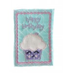 ITH Postkarte - Happy Birthday Muffin