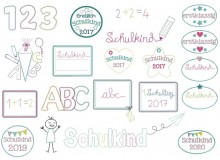 Stickserie - Schulkind