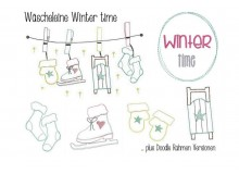 Stickserie - Winter Time - Frau H.