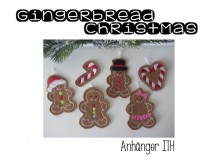 Anhänger ITH - Gingerbread Christmas Set