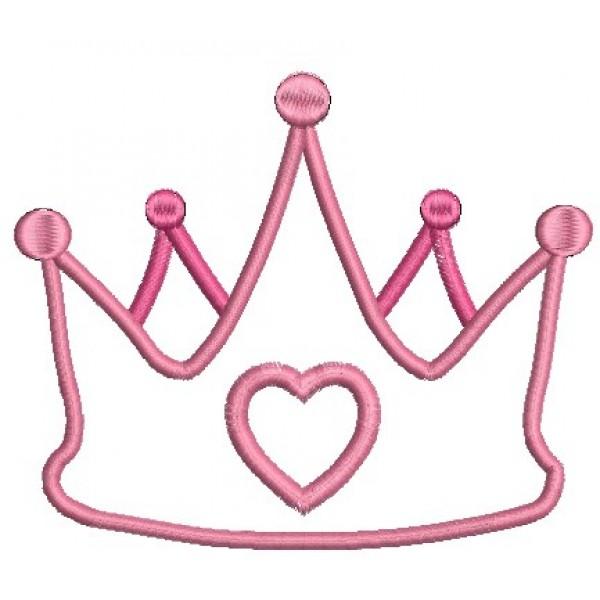 Stickmuster Prinzessin Krone Lollipops For Breakfast