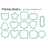 Stickserie Patches & Rahmen Basics