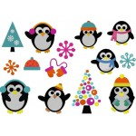 Stickserie - Pingu Party