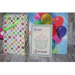 ITH Postkarte - Sweet Birthday Muffin