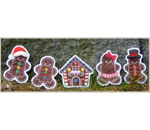 ITH - LED Teelichthüllen Gingerbread Christmas