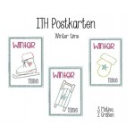 ITH Postkarte - Winter Time Set - Frau H.