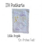 ITH Postkarte Little Angels - Frohes Fest