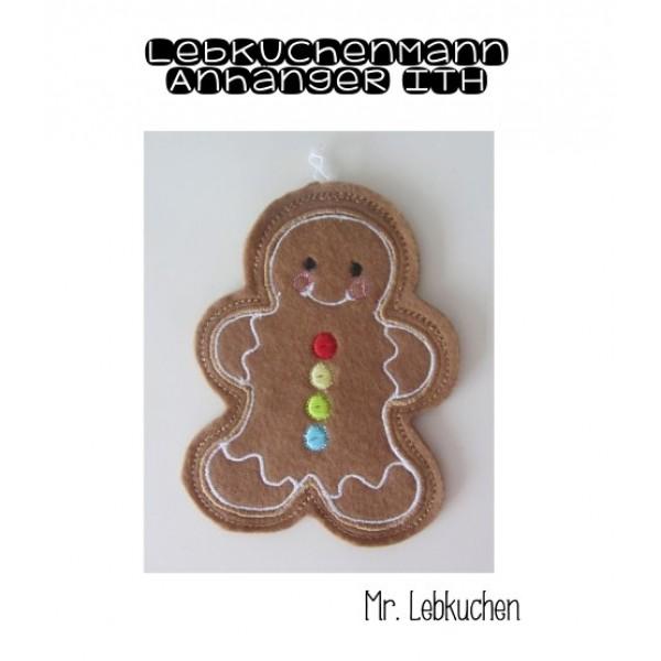 Anhänger ITH - Lebkuchenmann Gingerbread Christmas - Lollipops for ...