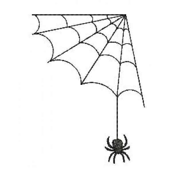 stickdatei halloween doodle spinnennetz lollipops for breakfast. Black Bedroom Furniture Sets. Home Design Ideas