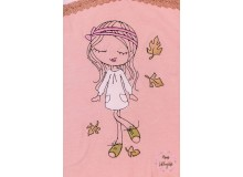 Stickdatei - Herbst Girl 2